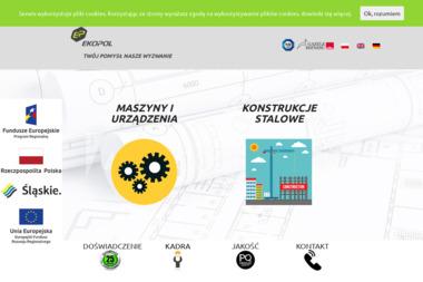 Ekopol - Projektowanie konstrukcji stalowych Kamienica Polska