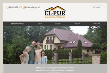 El-pur - Ocieplanie Pianką PUR Elbląg