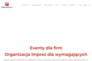 Fabryka Idei Sp z o.o - Dom mediowy Warszawa