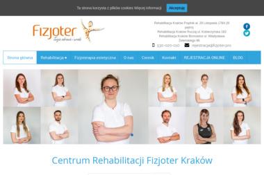 Fizjoter - Fizjoterapeuta Kraków