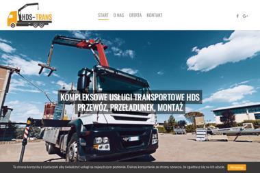 HDS-Trans - Dostawcy maszyn i urządzeń Szczecin