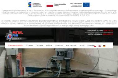 Metal-Fan - Dostawy wody Szubin