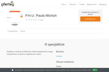 P.H.U. Paula Michoń - Doradca Leasingowy Częstochowa