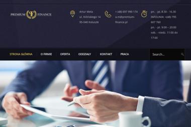 Premium-finance - Kredyt dla firm Koluszki
