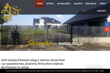 Art- Styl Usługi Ślusarsko-Spawalnicze Marcin Kozieł - Rzemiosło Żywiec