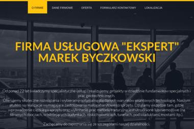"""Firma Usługowa """"EKSPERT"""" Marek Byczkowski - Posadzki betonowe Kartuzy"""