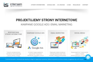 INTERSEM Agencja Interaktywna - Strony WWW Zgierz