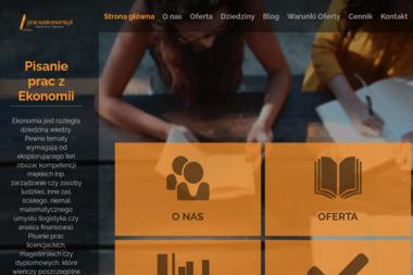 Praca z Ekonomii - Reklama Online Całowanie