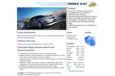 PRIMAGAZ - Samochody osobowe używane Lublin
