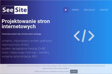 Seesite. Projektowanie stron www, administracja - Usługi Marketingu Internetowego Police