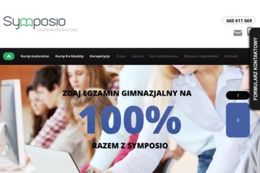 SYMPOSIO - Centrum Edukacyjne - Kurs niemieckiego Wrocław