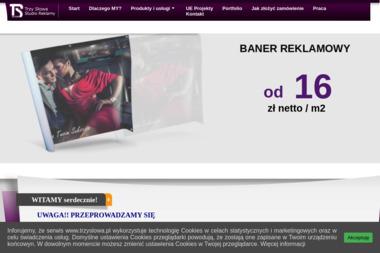 Trzy Słowa - Studio Reklamy - Ulotki z Perforacją Łódź