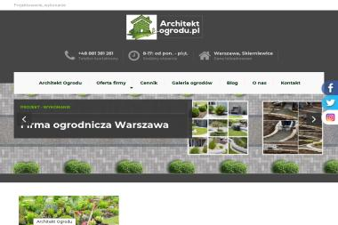 Architekt-ogrodu.pl - Projektowanie ogrodów Balcerów