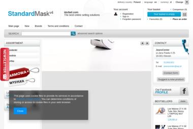 JeansCenter Spodnie Jeansowe Wrangler - Hurtownia odzieży Kleosin