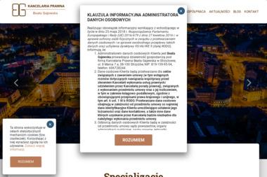 Kancelaria Prawna Beata Gajewska - Dochodzenie wierzytelności Strzyżów