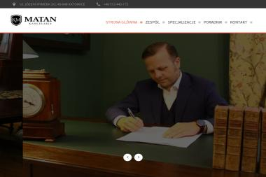 Kancelaria Matan - Radca Prawny Jakub Matan - Radca prawny Katowice