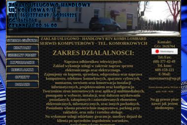 ZAKŁAD USŁUGOWO HANDLOWY RTV KOMPUTERY SERWIS AGD - Programista Iłowa