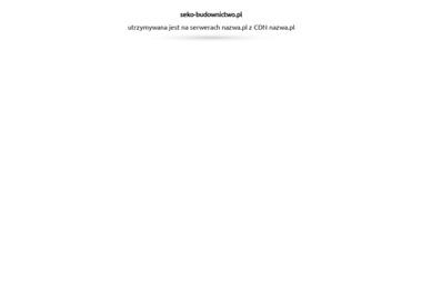 SEKO budownictwo energooszczędne - Urządzenia, materiały instalacyjne Bełchatów