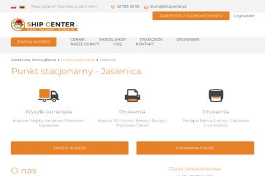 Jasienica Shipcenter - Tarcica budowlana Jasienica