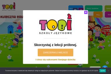 Tobi Angielski dla dzieci i młodzieży - Szkoła językowa Kobylanka