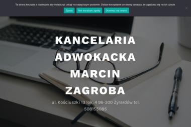 Kancelaria Adwokacka Marcin Zagroba - Pomoc Prawna Żyrardów