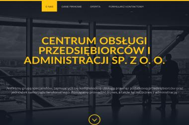 Centrum Obsługi Przedsiębiorców i Administracji - Doradcy Podatkowi Online Grudziądz