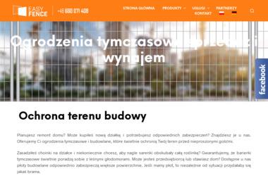 EASY FENCE SP. Z O.O. - Zaplecze budowlane Poznań