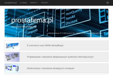 prostafirma.pl-narzędzia informatyczne Yaroslav Nechyporenko - Firma IT Szczecin