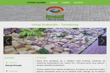 Renmar - Układanie kostki granitowej Tarnobrzeg