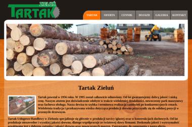 Tartak Zieluń - Skład drewna Lubowidz
