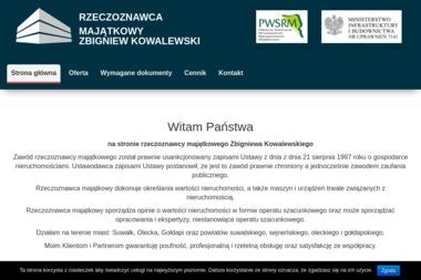 WYCENA NIERUCHOMOŚCI ZBIGNIEW KOWALEWSKI - Firma audytorska Suwałki