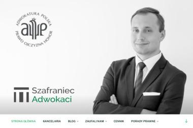 Kancelaria Adwokacka Adwokat Wojciech Szafraniec - Prawo Karne Borzęta