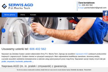 P.U. Mecha Tech - Naprawa piekarników i kuchenek Gdańsk