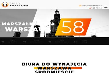 Biuro Kamienica Sp. z o.o. - Wirtualne biuro Warszawa