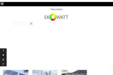 EKOWATT Fotoogniwa - Kolektory słoneczne Łuków
