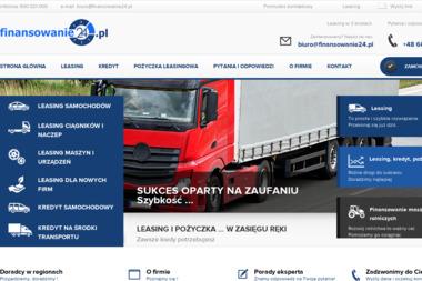 Finansowanie24.pl S.C. Sławomir Buchta i Justyna Buchta - Samochody ciężarowe Kraków