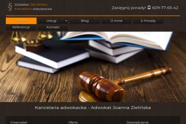 Kancelaria Adwokacka Adwokat Joanna Zielińska - Obsługa prawna firm Łódź