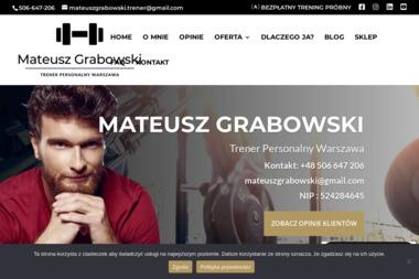 Mateusz Grabowski - Odchudzanie Warszawa