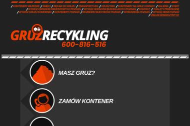 Skip-recykling - Przetwarzanie odpadów Poznań