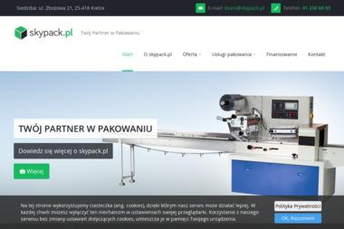 Skypack Maszyny Pakujące - Dla przemysłu tekstylnego Kielce