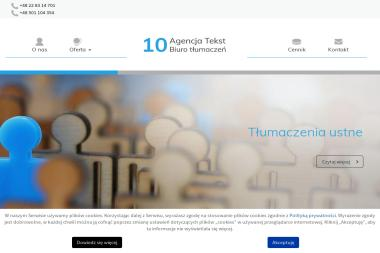 10 Agencja Tekst - Tłumacze Warszawa