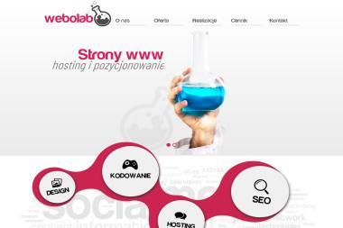 Webolab Projektowanie i tworzenie stron internetowych - Programista Łódź