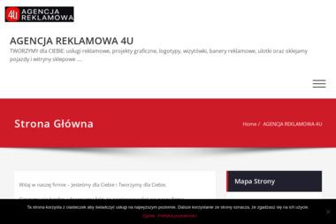 Agencja Reklamowa 4U - Projektowanie Logotypów Krajenka