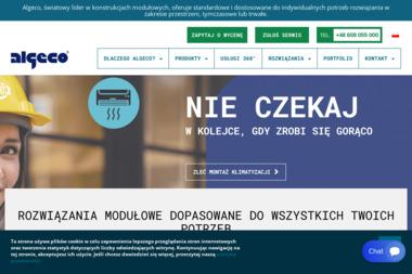 Algeco - Zaplecze budowlane Gdańsk