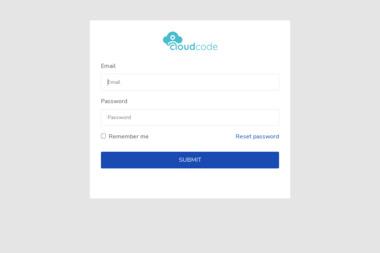 Cloud Code - Strona Internetowa Mniów
