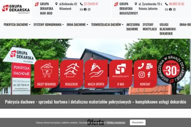 Grupa Dekarska Milanówek - Pokrycia dachowe Milanówek