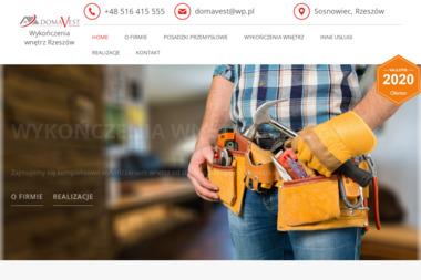 DOMAVEST Sp. z o.o. - Układanie kostki brukowej Sosnowiec