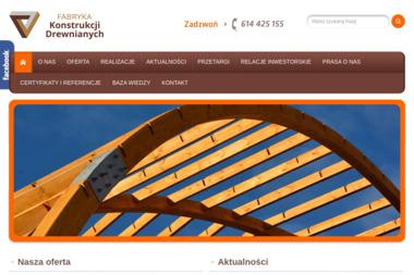 Fabryka Konstrukcji Drewnianych S.A. - Budowa domów Nowy Tomyśl