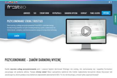 FrostSEO - Sklep internetowy Tarnów