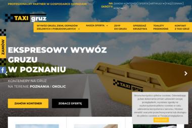 Taxi Gruz - Wywóz Gruzu Poznań